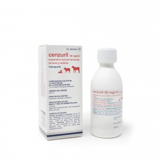 Cenzuril 50 mg/ml